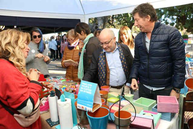 Posse y Faurie visitaron la Expo Emprendedores de San Isidro
