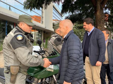 Ducoté y Burzaco participaron de un operativo de Seguridad en Pilar