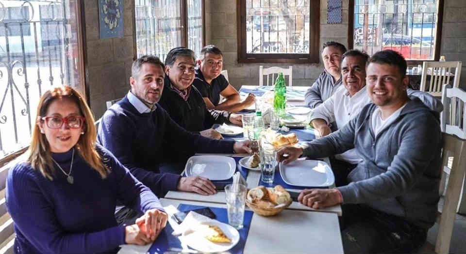 "Domínguez: ""Trabajamos para poner de pie nuevamente a Pilar"""
