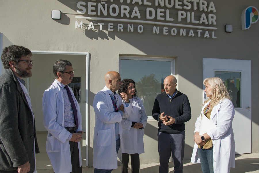 Pilar y el Garrahan firmaron un acuerdo de cooperación para el nuevo hospital