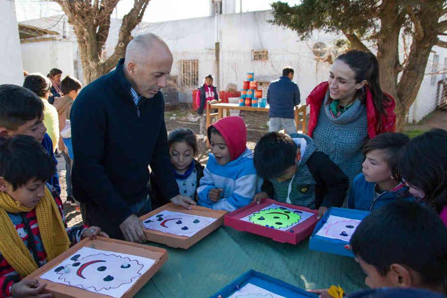 Festejo del Día del Niño en la Casa del Niño Crocci de Pilar