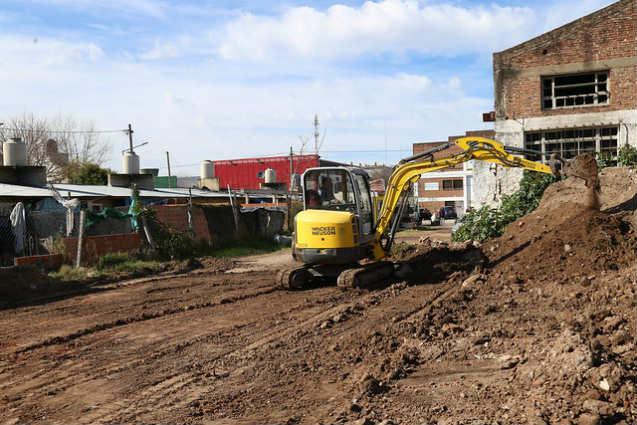 El municipio de San Isidro renueva pavimentos en La Cava