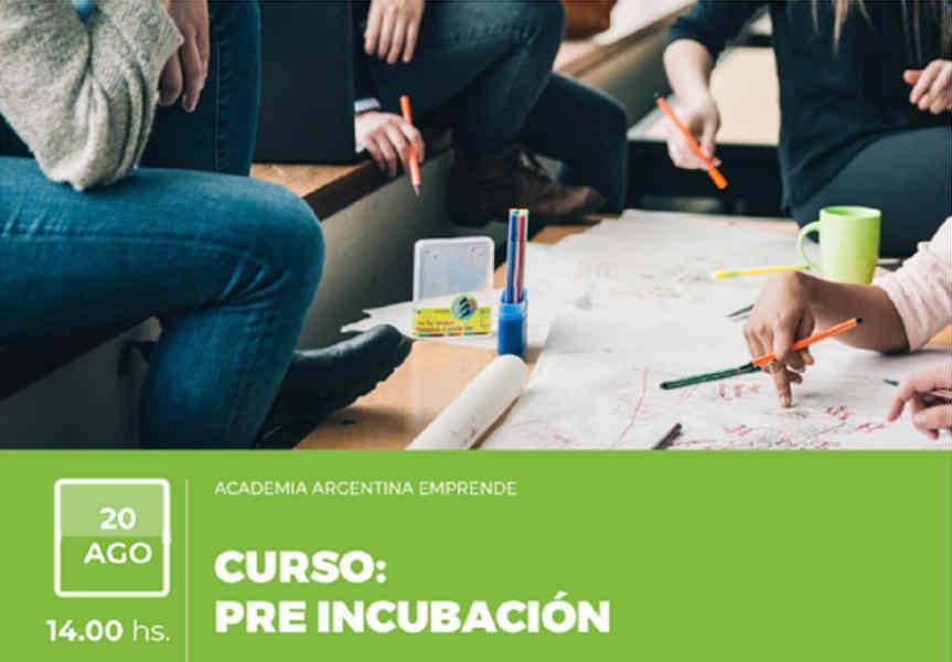 Curso de pre incubación para emprendedores  en la UTN de Pacheco
