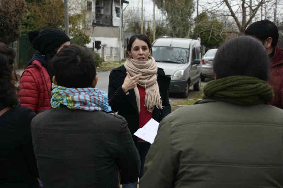 La candidata a diputada provincial por el Frente de Todos y secretaria de Desarrollo Social del Municipio de Tigre, Roxana López,