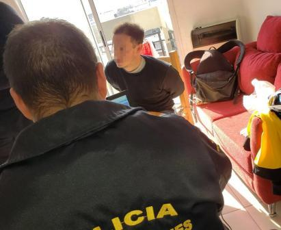 Fue Detenido e La Plata por agredir a su ex pareja con una trincheta