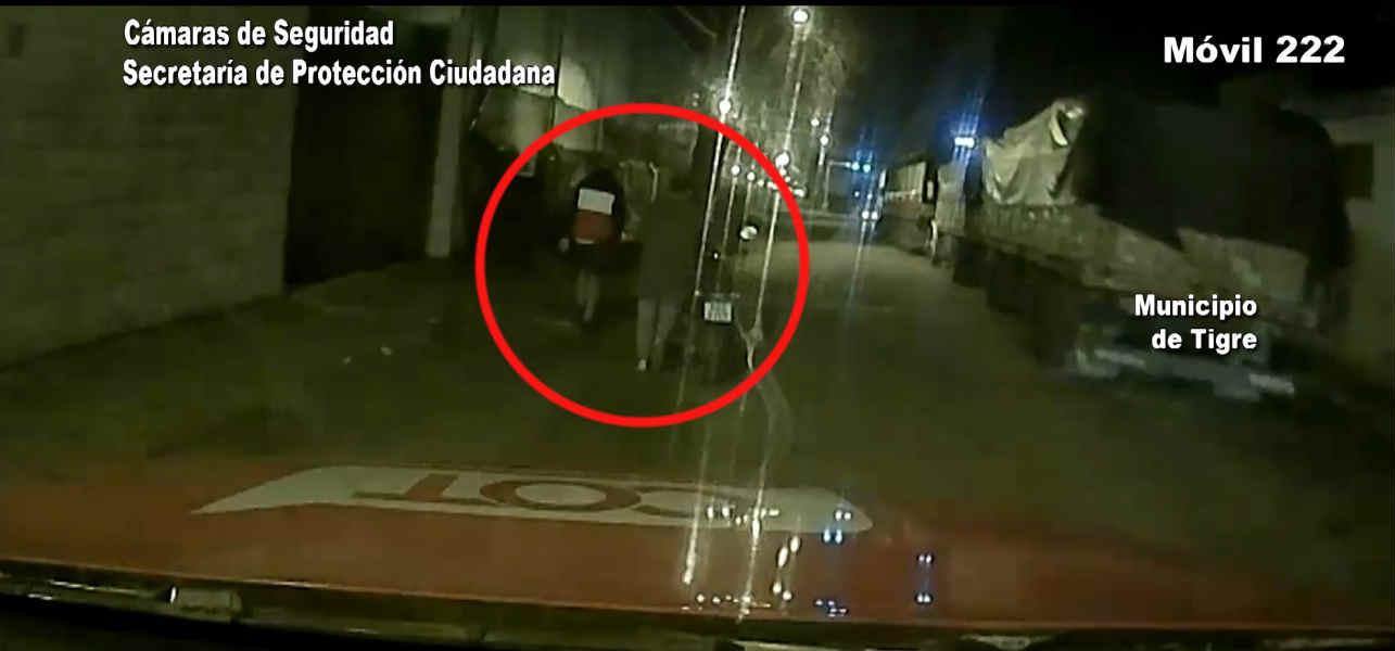 En Ricardo Rojas, se frenó el robo de una motocicleta por una denuncia la a plataforma Alerta Tigre Global
