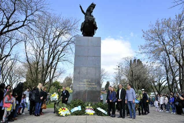 La comunidad de Tigre homenajeó al Libertador General San Martín