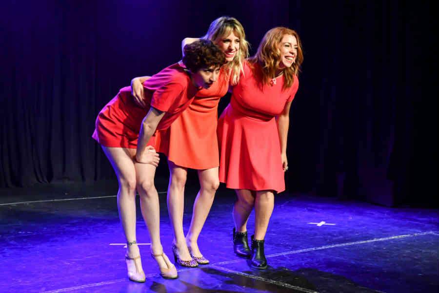 Sofía Gala, Verónica Lorca y Tamara Pettinato llenaron de risas el Teatro Martinelli
