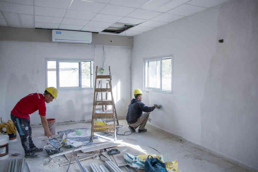 Pilar: Avanza la obra en el Centro de Salud de Tres Barrios