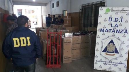 Detuvieron en La Matanza a piratas del asfalto y recuperaron cargamento de grifería robado valuado en 2 millones de pesos