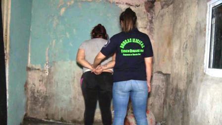 """Cayó  en la Villa Puerta de Hierro """"Karina"""": lideraba banda que comercializaba cocaína, pasta pase y marihuana"""
