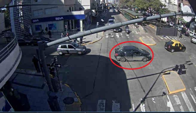 Gracias a las cámaras de seguridad de Vicente López apresan a un delincuente en Temperley