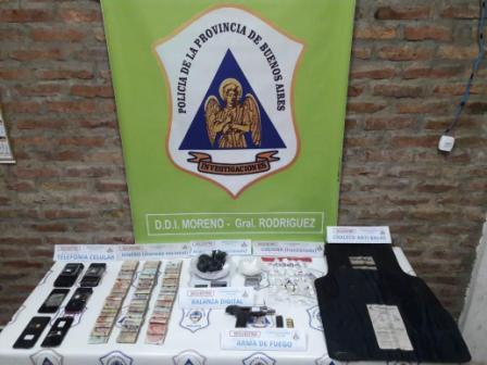 "Apresan en General Rodríguez a ""la banda del gordo Tony"": vendía cocaína y marihuana al menudeo"