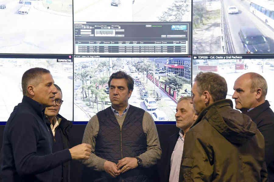 Candidato a intendente de Luján recorrió en Centro de Operaciones Tigre