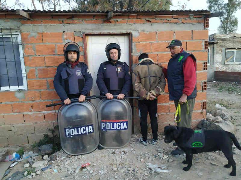 La policía desbarató en Quilmes una organización dedicada a la venta y comercialización de droga