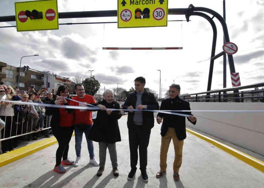 Jorge Macri inauguró el nuevo paso bajo Nivel de Munro