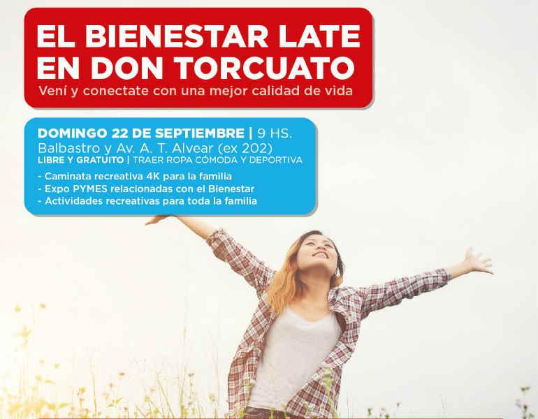 """Llega una nueva edición de """"El Bienestar Late en Don Torcuato"""""""