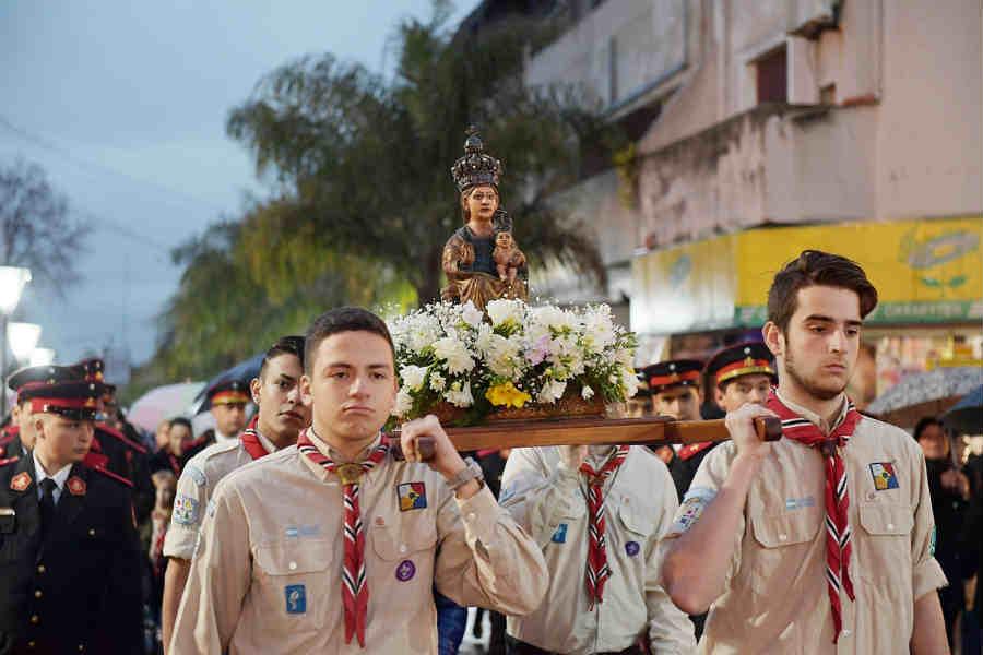San Fernando vivió los festejos por el Día de Nuestra Señora de Aránzazu