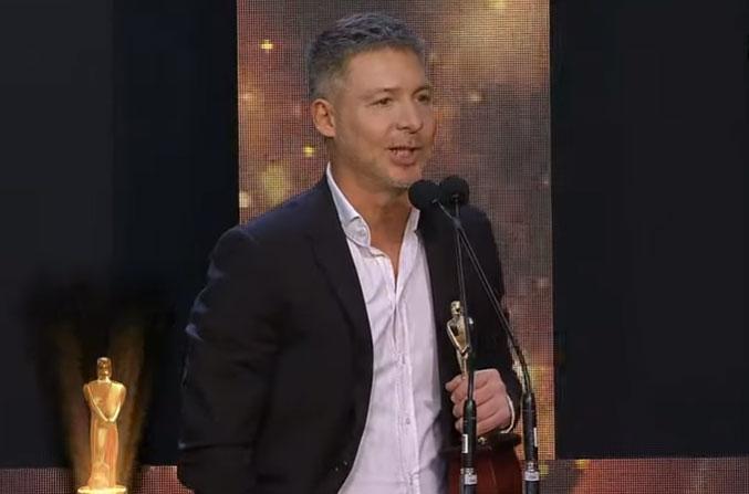 Adrian Suar - El Host se llevó el Martín Fierro de Oro del cable