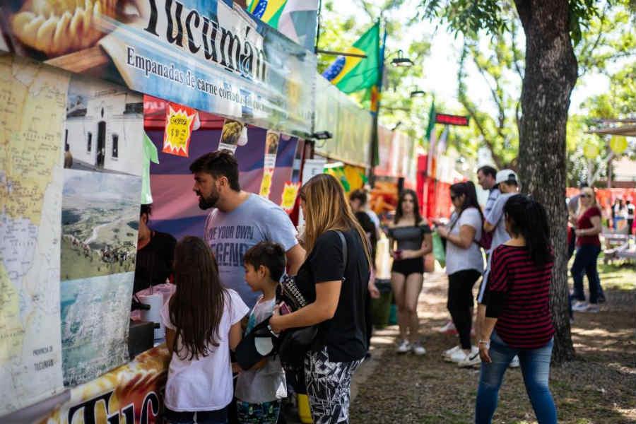 Llega la feria de las colectividades a Vicente López