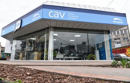 Katopodis inauguró el nuevo Centro de Atención al Vecino de Tropezón
