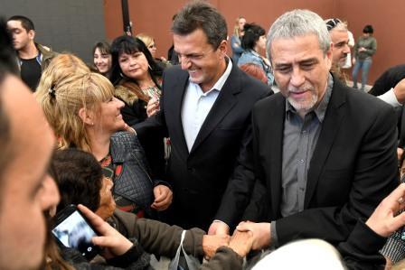 ergio Massa visitó este viernes la ciudad de Avellaneda, junto al intendente local, Jorge Ferraresi