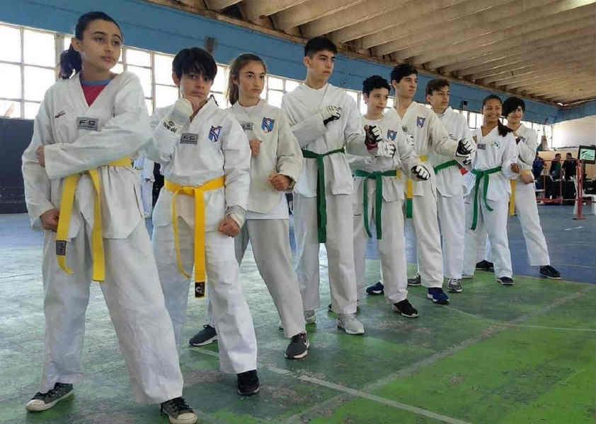 Destacada presentación del equipo de Escuela Municipal de Taekwondo de Tigre en los Juegos Evita 2019