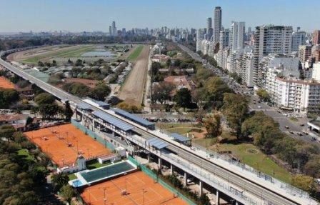 Trenes del ramal Tigre de la linea Mitre volverán a detenerse en la estación elevada de Lisandro del la Torre