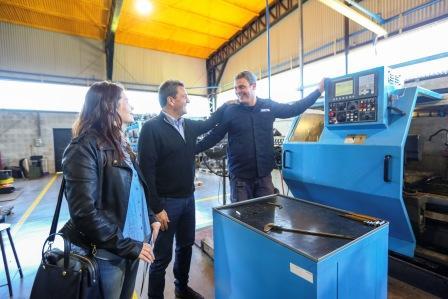 """Sergio Massa en Moreno: """"Tenemos que cuidar el mercado interno para que las industrias sean competitivas"""""""