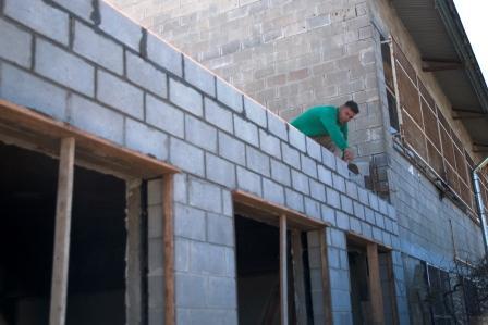 Avanza la obra de ampliación en la Secundaria 7 de Derqui