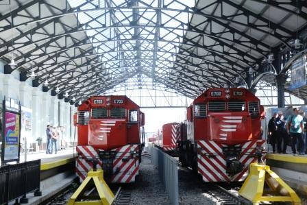 El tren Belgrano Norte ya se detiene en los nuevos andenes de Retiro
