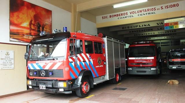 Modifican la Ley de Tránsito para beneficiar a los bomberos voluntarios