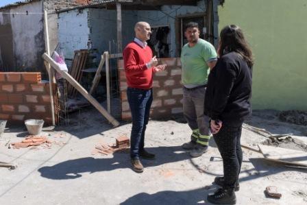 """San Fernando realiza mejoras en el barrio """"El Pueblito"""""""