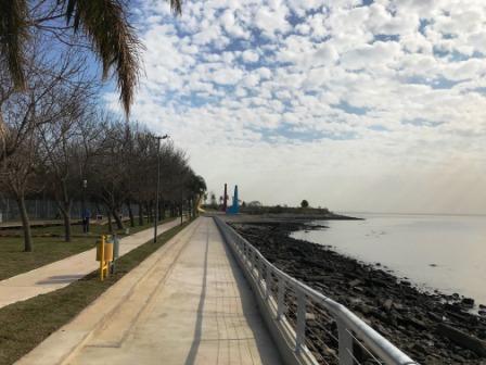 Vicente López recupera espacio costero, ahora de acceso público