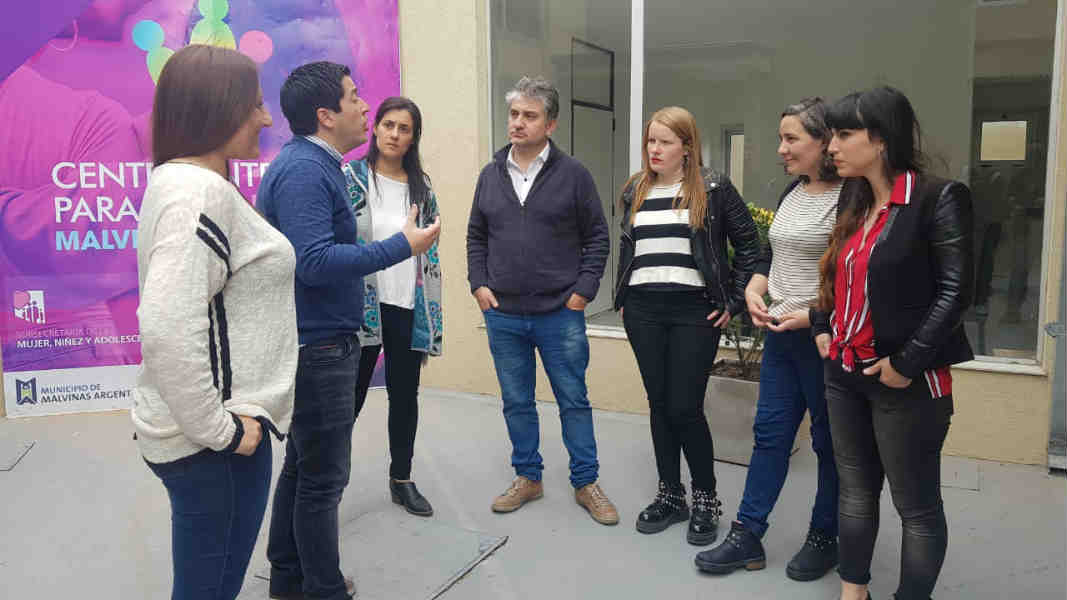 Beccaria proyecta para Vicente López un centro integral para la mujer como tiene Malvinas Argentinas