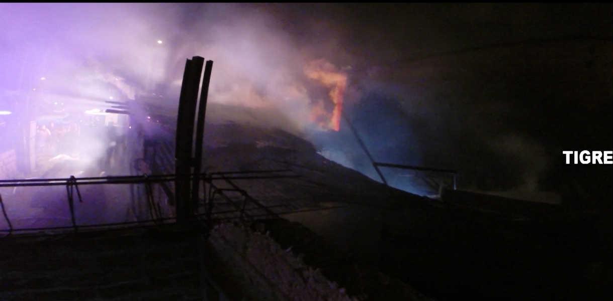 Feroz incendio en una en casa Las Tunas fue controlado por sl sistema de Alerta Tigre