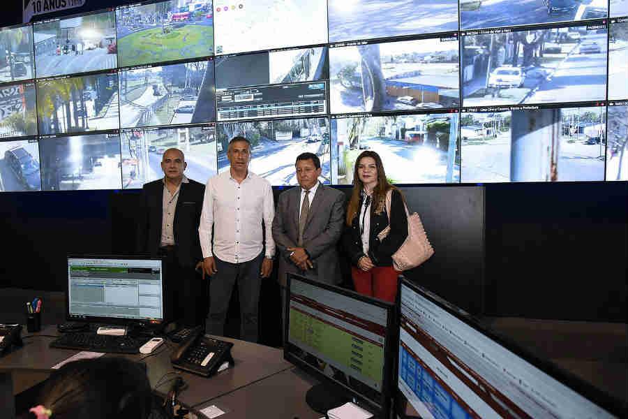Funcionarios tucumanos elogiaron el sistema de Protección Ciudadana de Tigre