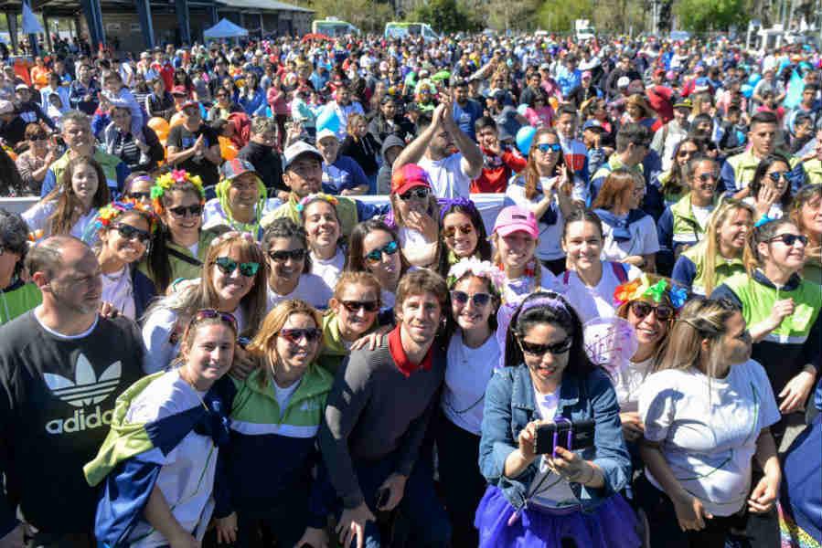 Más de 3 mil vecinos disfrutaron la Bicicleteada Familiar de San Fernando