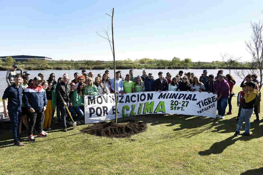 Tigre se sumó a la movilización mundial contra el cambio climático