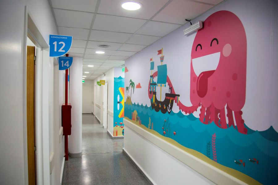 Jorge Macri inauguró la Guardia Pediátrica del Hospital Houssay