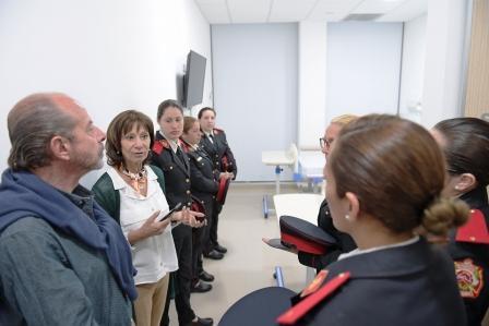 Los Bomberos Voluntarios de San Fernando también reciben las prestaciones médicas del Hospital Municipal