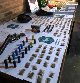 La policía detuvo en San Martín a nueve personas que integraban una organización narco