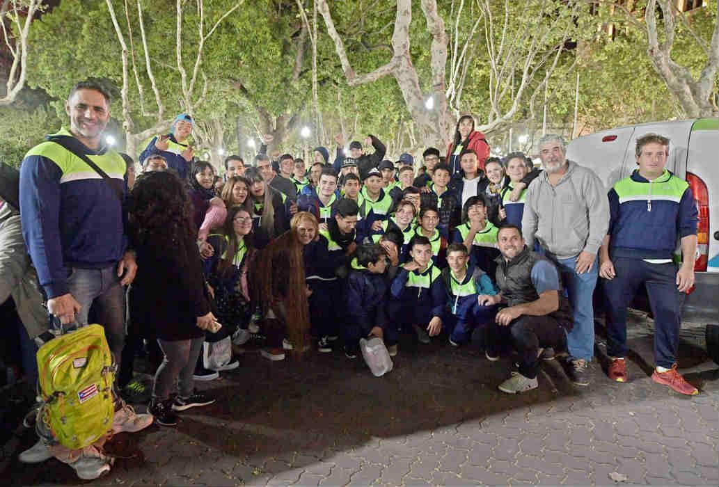 La delegación de San Fernando partió rumbo a los Juegos Bonaerenses 2019