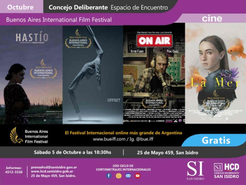 Llega la segunda edición del Buenos Aires International Film Festival a San Isidro