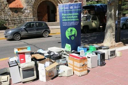 Nueva jornada de recolección de residuos electrónicos en San Isidro