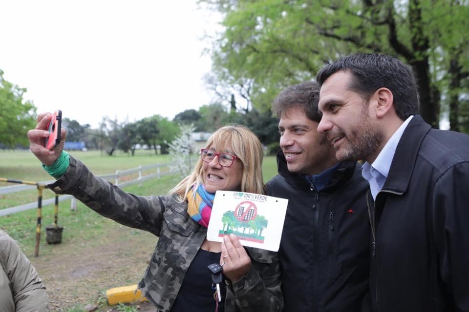Axel Kicillof dio su apoyo al candidato a intendente de San Isidro, Federico Gelay