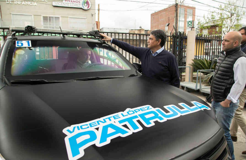 Presentan nuevas tecnologías en las patrullas municipales de Vicente López