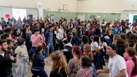 Más de 500 jóvenes participaron de la fiesta de la integración en San Isidro