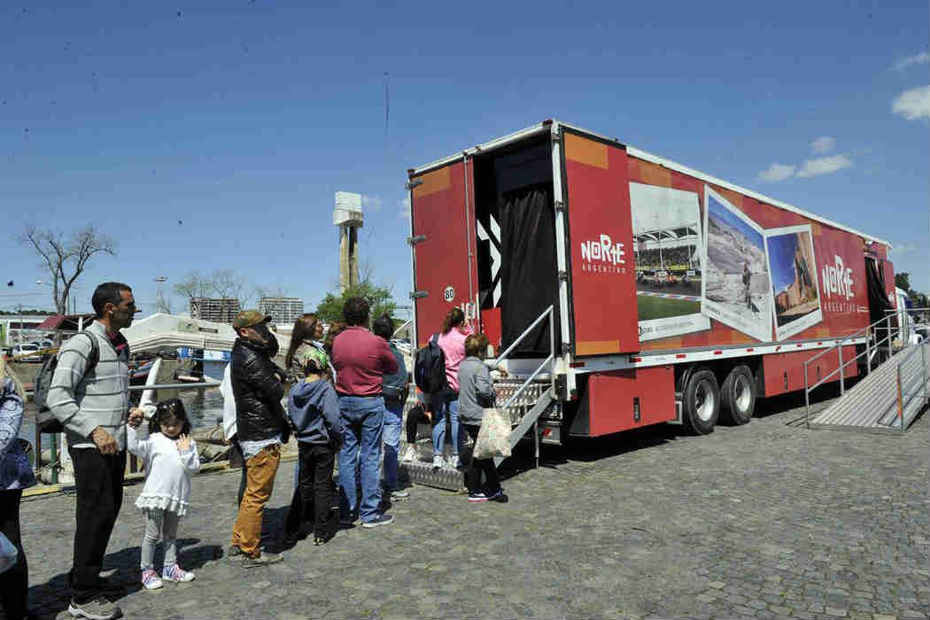 Las ciudades turísticas argentinas eligen a Tigre para promocionar sus destinos -  Camión Turísctico