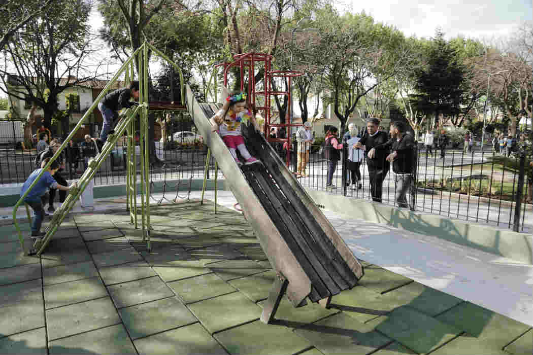 Mejoraron cuatro plazas de Vicente López